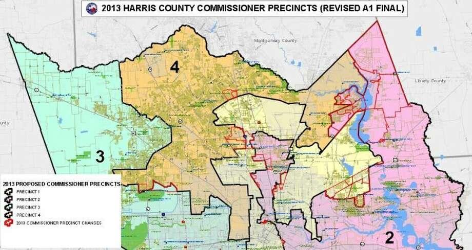 Harris County Voting Precinct Map Harris County Precinct Map   Bedroom 2018