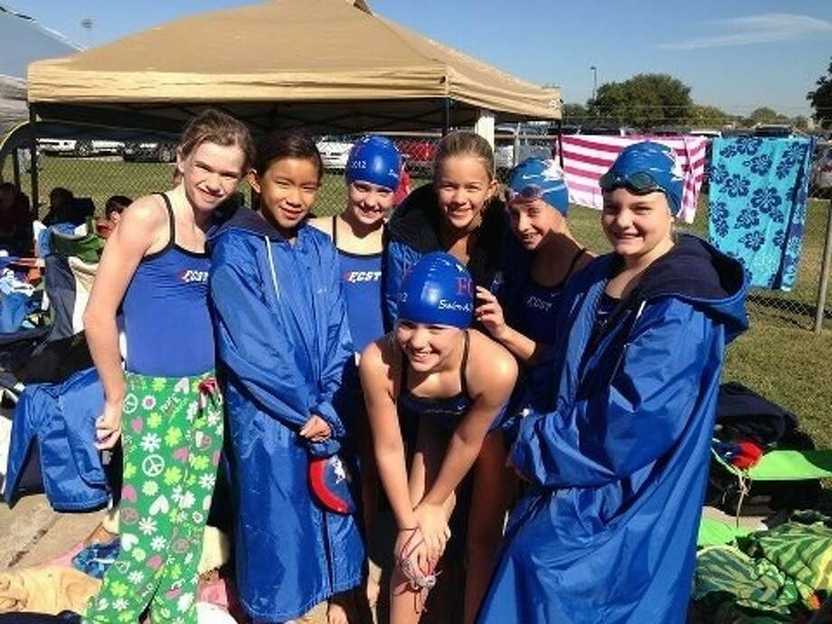 First Colony Swim Team won the team championship at the Gulf Swimming Fall Champs meet. Photo: Submitted