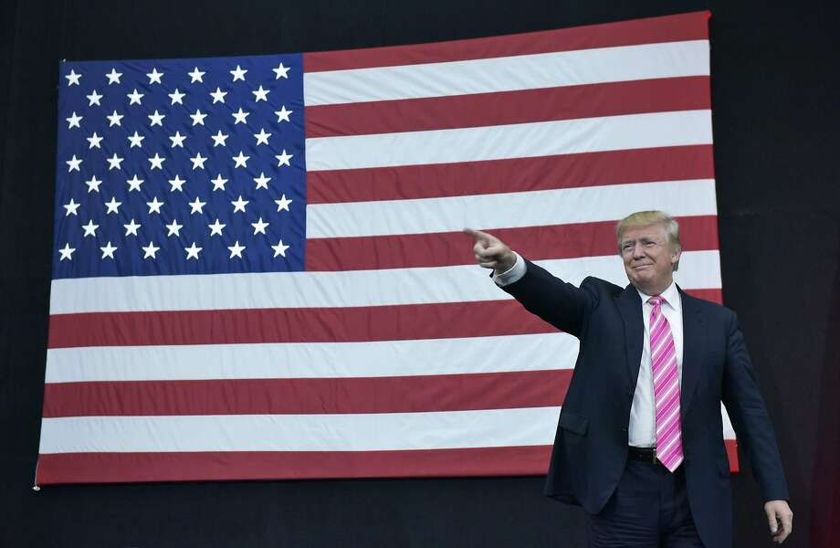 """Republican presidential nominee Donald Trump says he knows the tax laws and he's """"the only one who can fix them."""" Photo: MANDEL NGAN, AFP/Getty Images"""