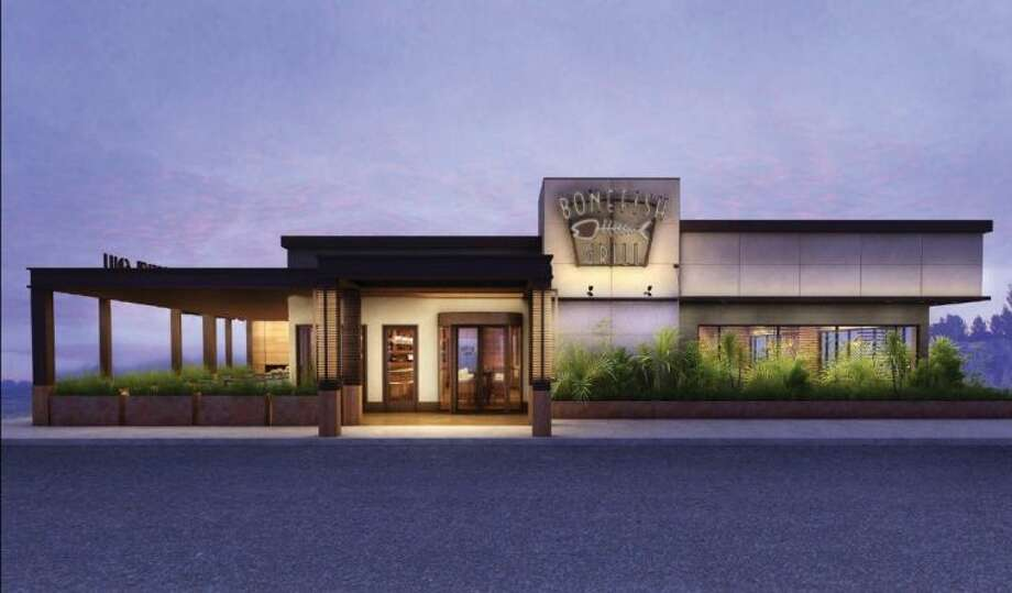 Bonefish grill brings new look design to the woodlands for Fish store houston