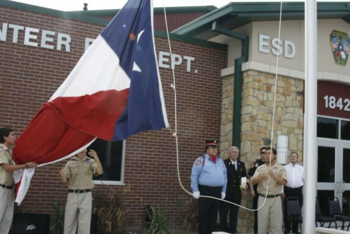 In honor of fallen firefighter, Neal W. Smith, the Atascocita Volunteer Fire Department opened and named their new training facility building located on Timber Forest in Atascocita after Smith July 27, 2013.