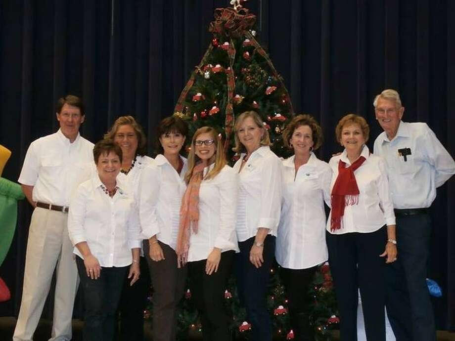 The Liberty County CPS Advisory Board includes (left to right) Dr. David Arnold, Mary Kay Hicks, Becky Dearmore, Stacey Gatlin, co-secretary; Marilyn Gilliland, co-secretary; Donna Hebert, vice-president; Ena Stoesser, John Hebert, treasurer; and Cyndie Abshire, president. Not pictured are Helen Green, ambassador; Vanesa Brashier, advisory member; and Kevin Ladd, advisory member. Photo: Submitted Photo