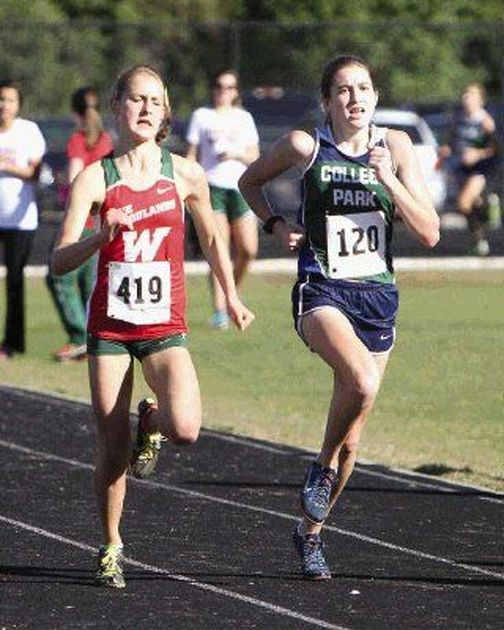 The Woodlands' Abbey Piontek, left, will lead the Lady Highlanders in her senior season.