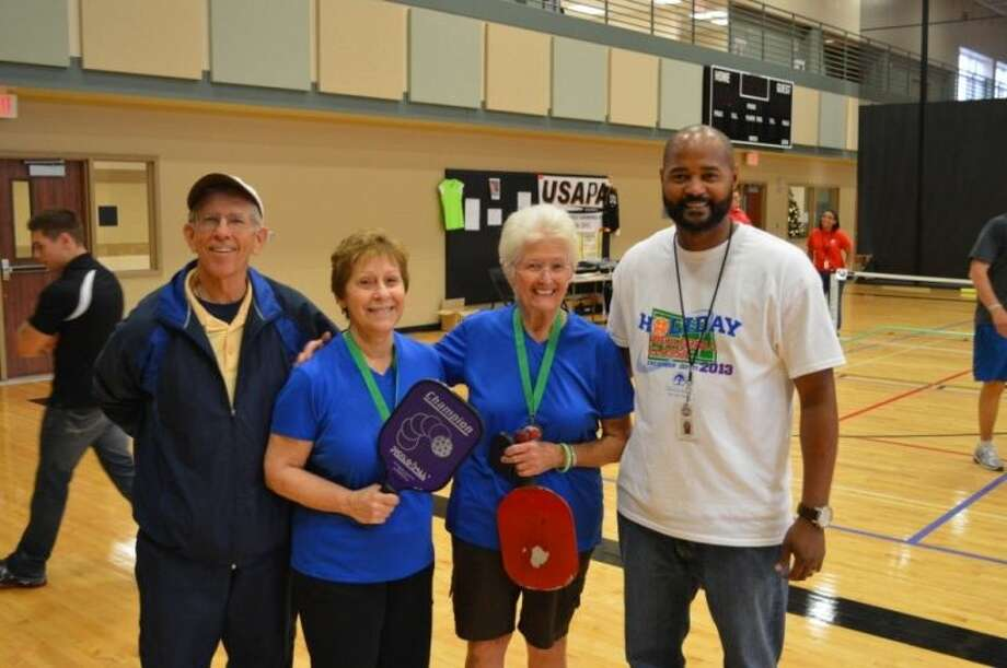 Pickleball Classic winners. Photo: Courtesy Pearland Parks And Rec