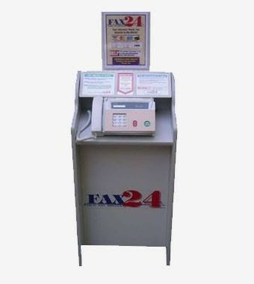 A Fax24 kiosk, to be available at all Fort Bend County Library branches by the end of January. Photo: Photo Courtesy Fort Bend County Libraries