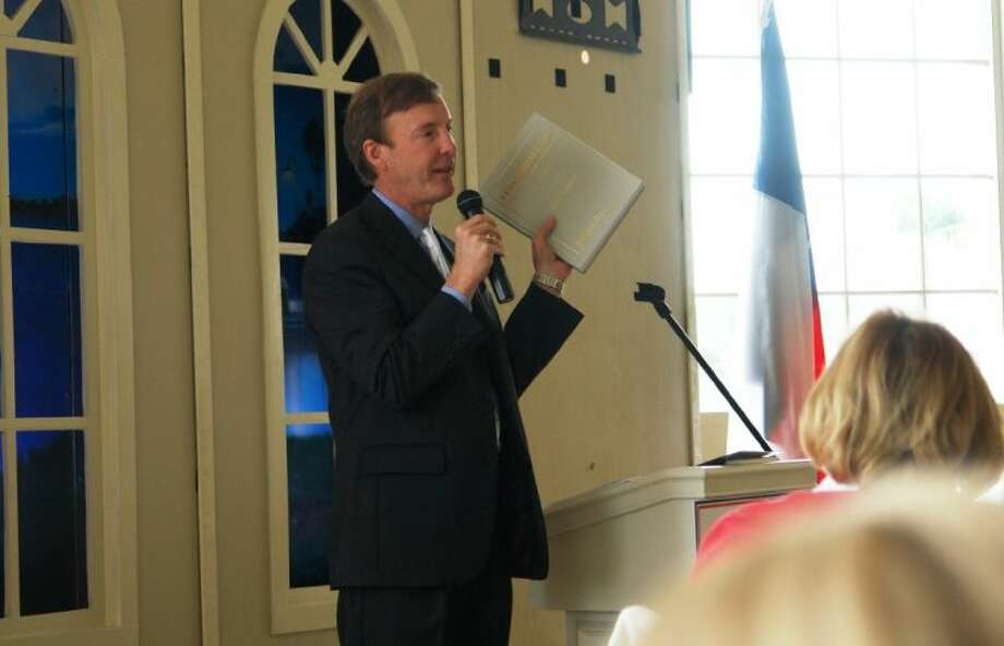 Center for Terrorism Law Director Jeffrey F. Addicott spoke to members of the North Shore Republican Women Wednesday at Bentwater Yacht Club on extreme radical Islam and why terrorists are motivated.