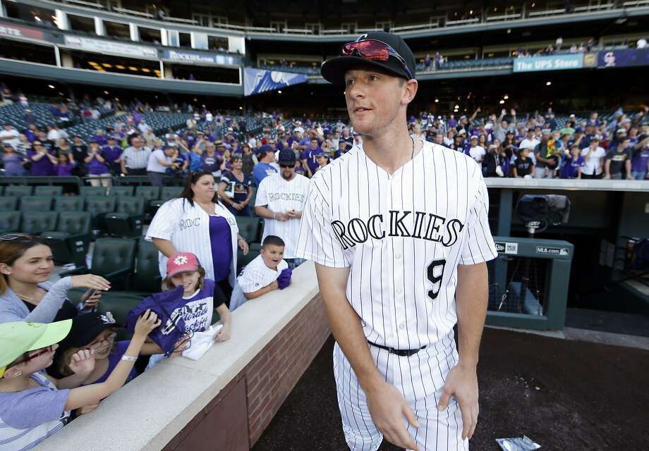 DJ LeMahieu's major league-leading .348 batting average was the NL's highest since Atlanta's Chipper Jones hit .364 in 2008. Photo: David Zalubowski, Associated Press