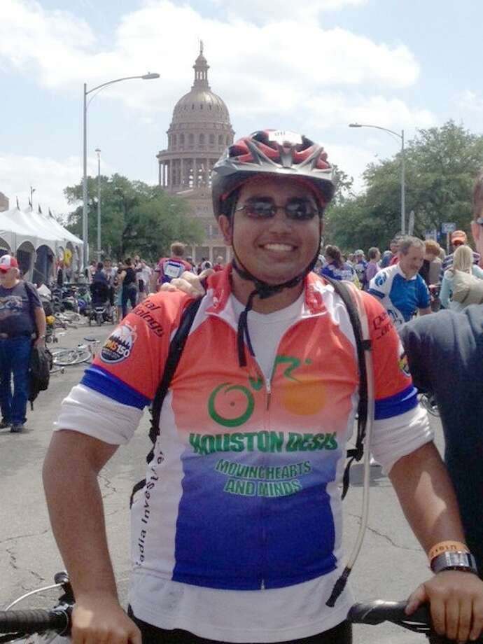 Nakul Rao, a 10th grader at Glenda Dawson High School participated in the two day MS 150 bike ride on April 20 and 21, 2013. This was Nakul's third time participating in the ride. Nakul raised over $1,200 in donations. Photo: Submitted Photo