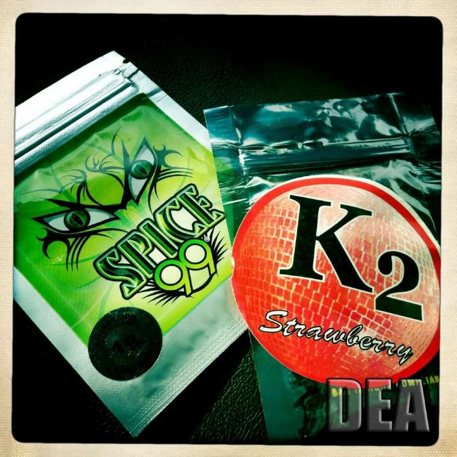 """The Deer Park City Council recently passed a new ordinance banning the sale or possession of synthetic marijuana, sometimes sold under the name """"Spice"""" or """"K-2"""" over the counter at smoke shops or gas stations. Photo: Courtesy DEA"""