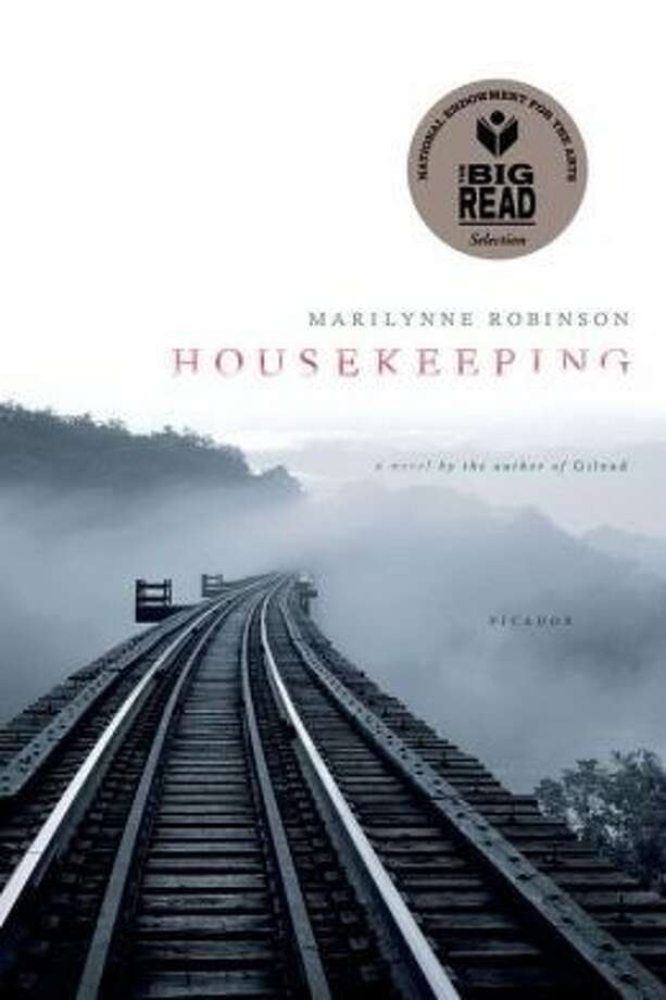 """Housekeeping"" by Marilynne Robinson, the January selection of the Sugar Land Great Books Adult Discussion Group at First Colony Branch Library. Photo: Courtesy FBCL"
