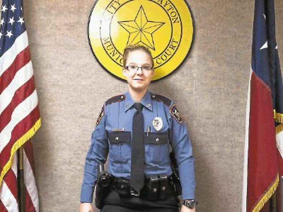 Officer Kristen Seivert was hired by Dayton Police Department in October 2013. Photo: CASEY STINNETT / @WireImgId=2655083