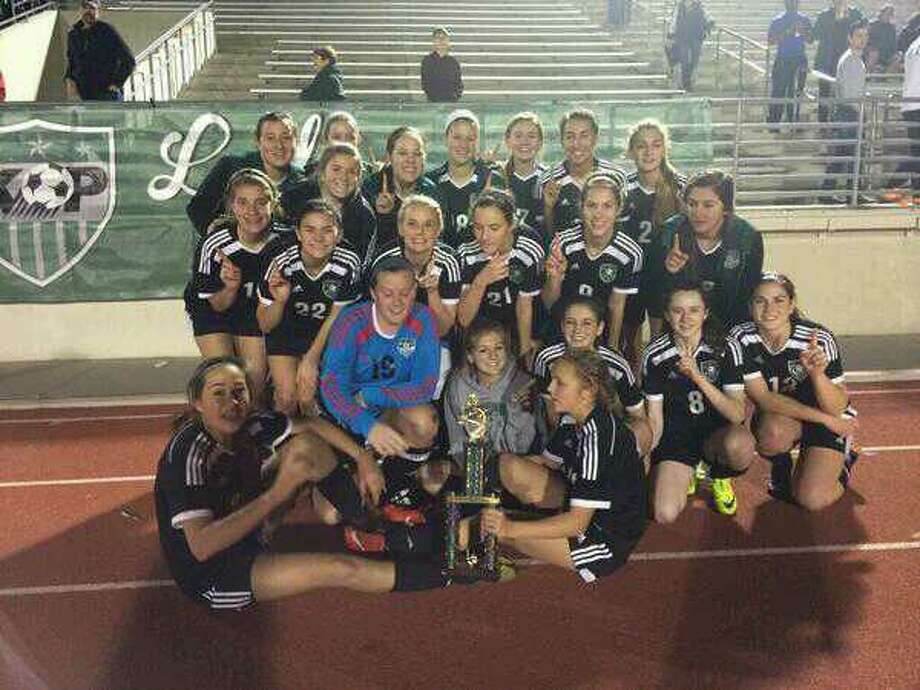 Kingwood Park won the Class 5A bracket of the Humble ISD Women's Invitational on Saturday with a 1-0 victory over Pearland. Photo: Submitted Photo