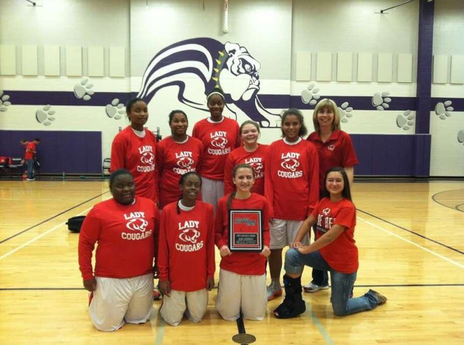 The Crosby 8th grade A team won the San Jacinto tournament over the weekend. Photo: Submitted Photo