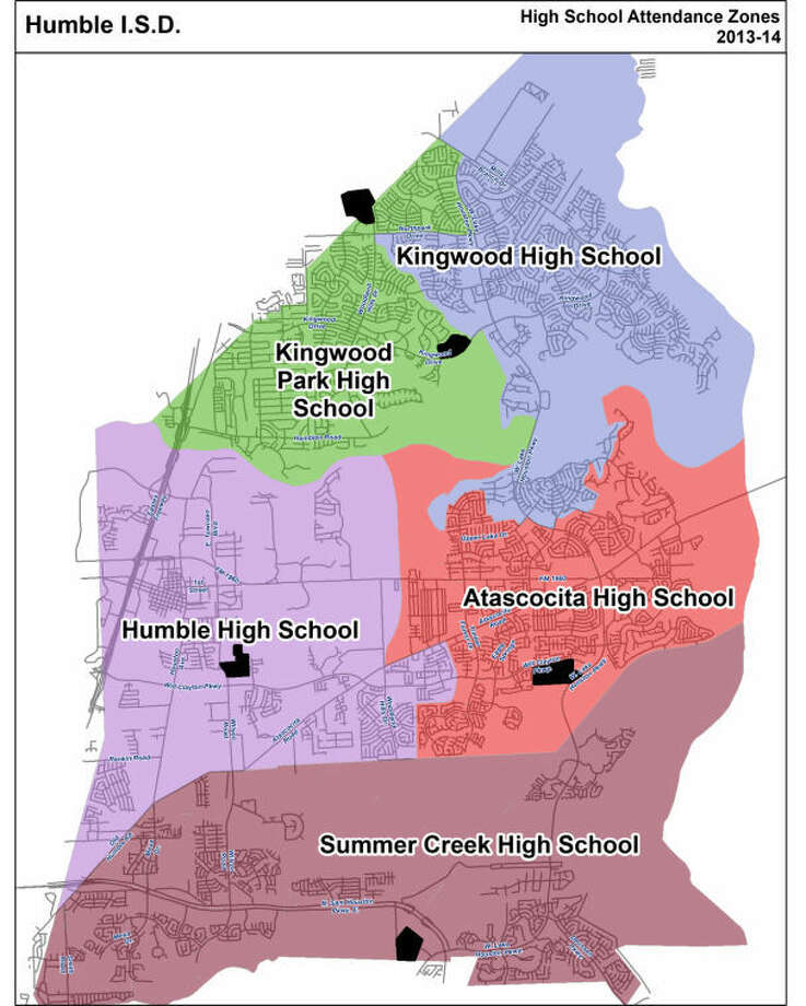 Imagine combining Atascocita with Summer Creek and the potential of its athletic programs. Photo: Humble ISD