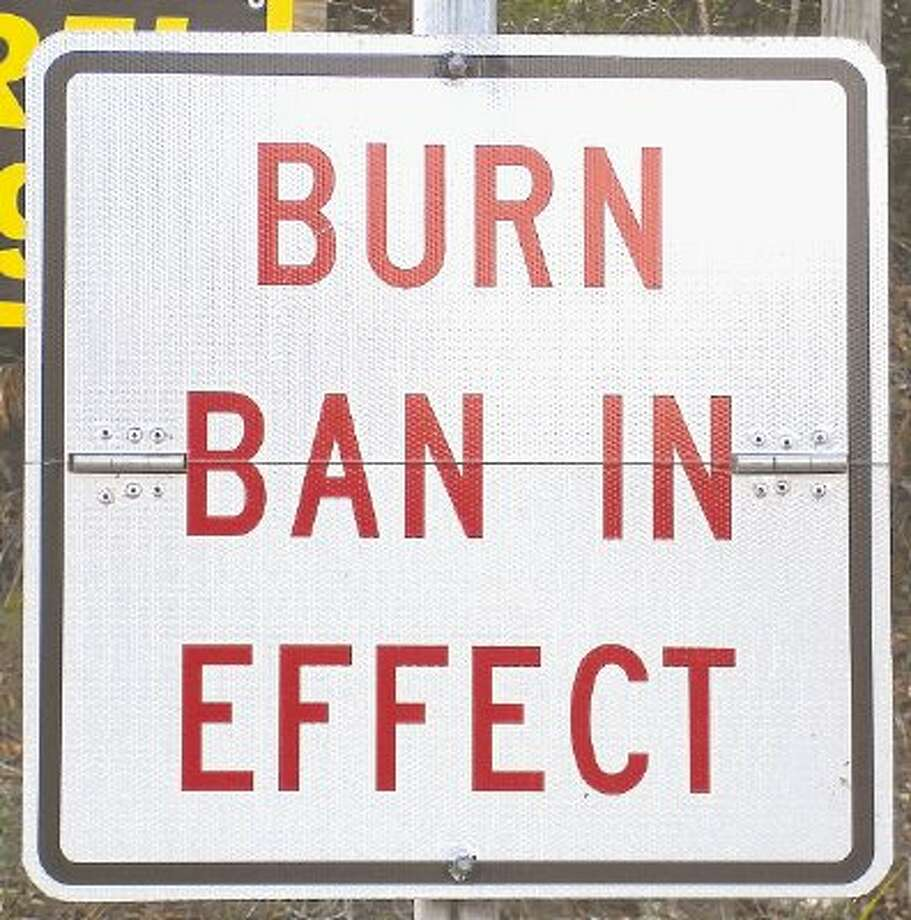 A burn ban for Liberty County is in effect. Anyone in violation faces a fine of up to $500. Photo: File Photo / @WireImgId=2514830