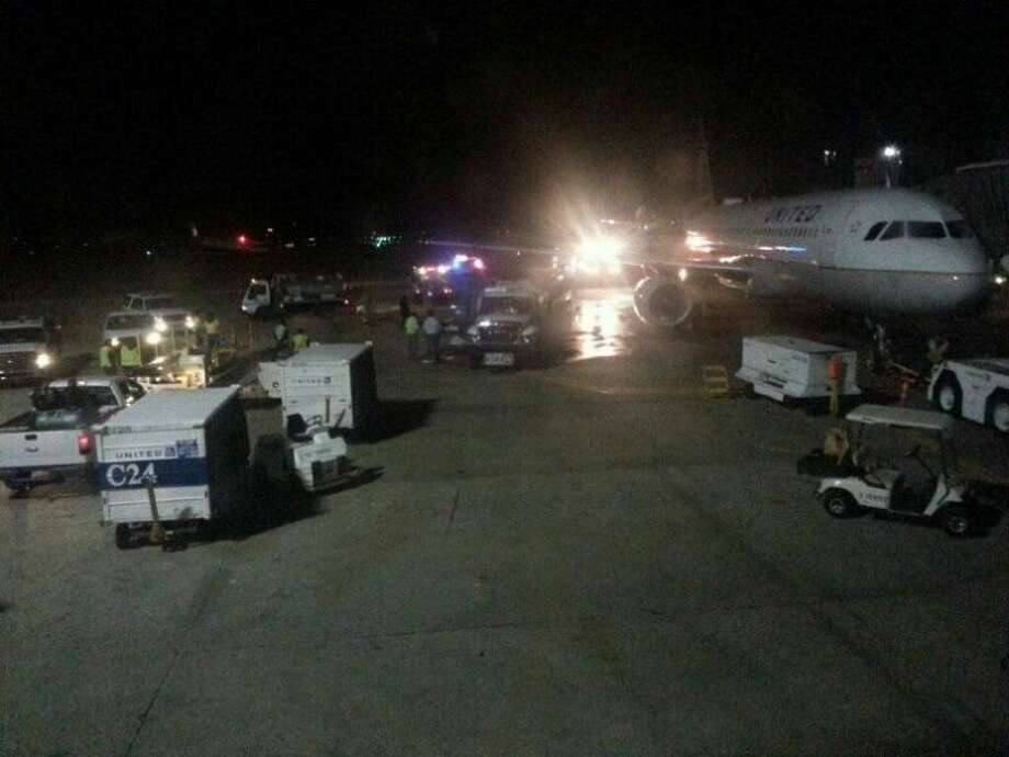 A plane full of travelers had to be evacuated after a fuel spill Jan. 21 at George Bush Intercontinental Airport.