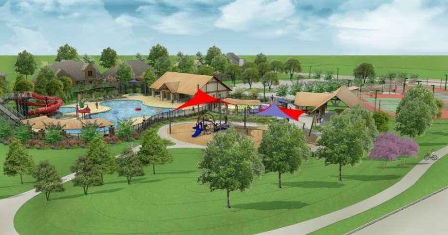 Westridge Creek Recreation Center Rendering Photo: Submitted