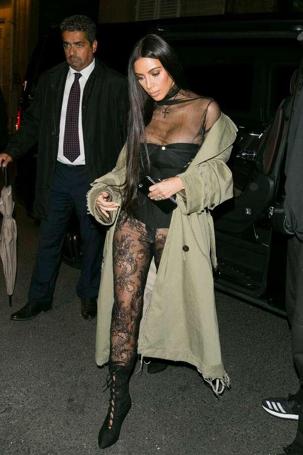 Kim Kardashian West is seen on October 1, 2016 in Paris, France. Photo: Marc Piasecki/GC Images