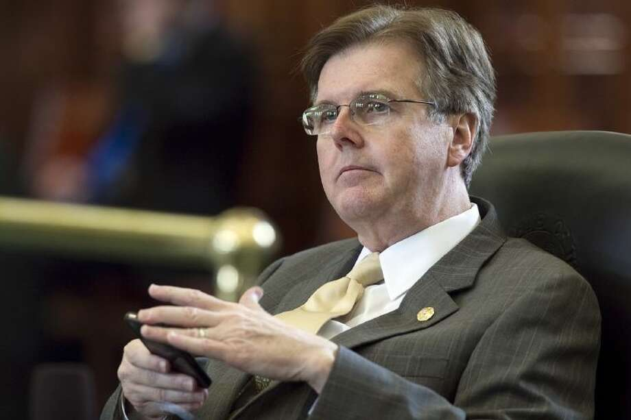 In this May 27, 2011 file photo, Texas State Sen. Dan Patrick is seen in the Senate Chambers at the Capitol, in Austin. Before the start of the legislative session, the tea party Republican declared he was ready to lead the largest public education overhaul Texas had seen in decades. He has largely succeeded.