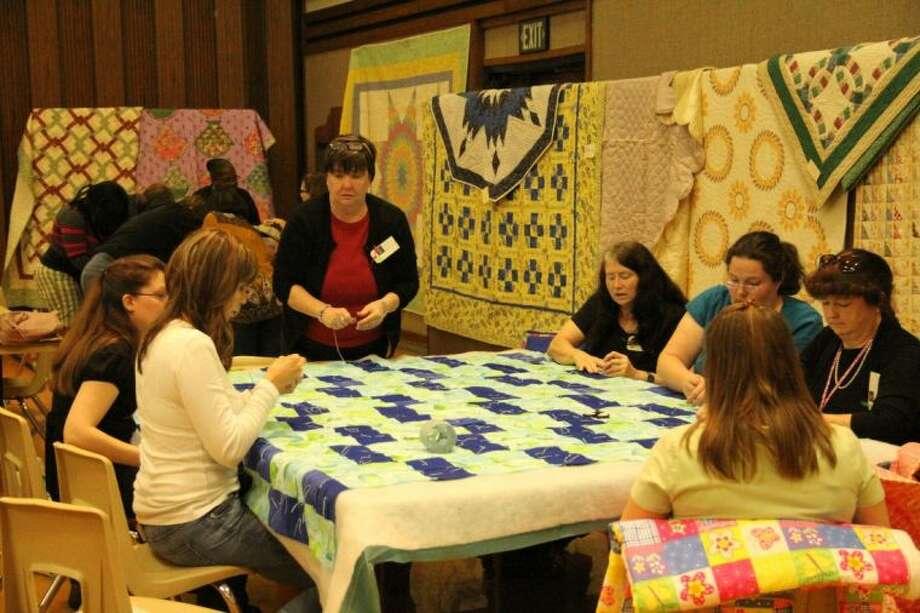 Houston area quilters will gather on Saturday, Feb. 8, at The Church of Jesus Christ of Latter-day Saints for its 18th annual Interfaith Quilting Bee. Photo: Submitted