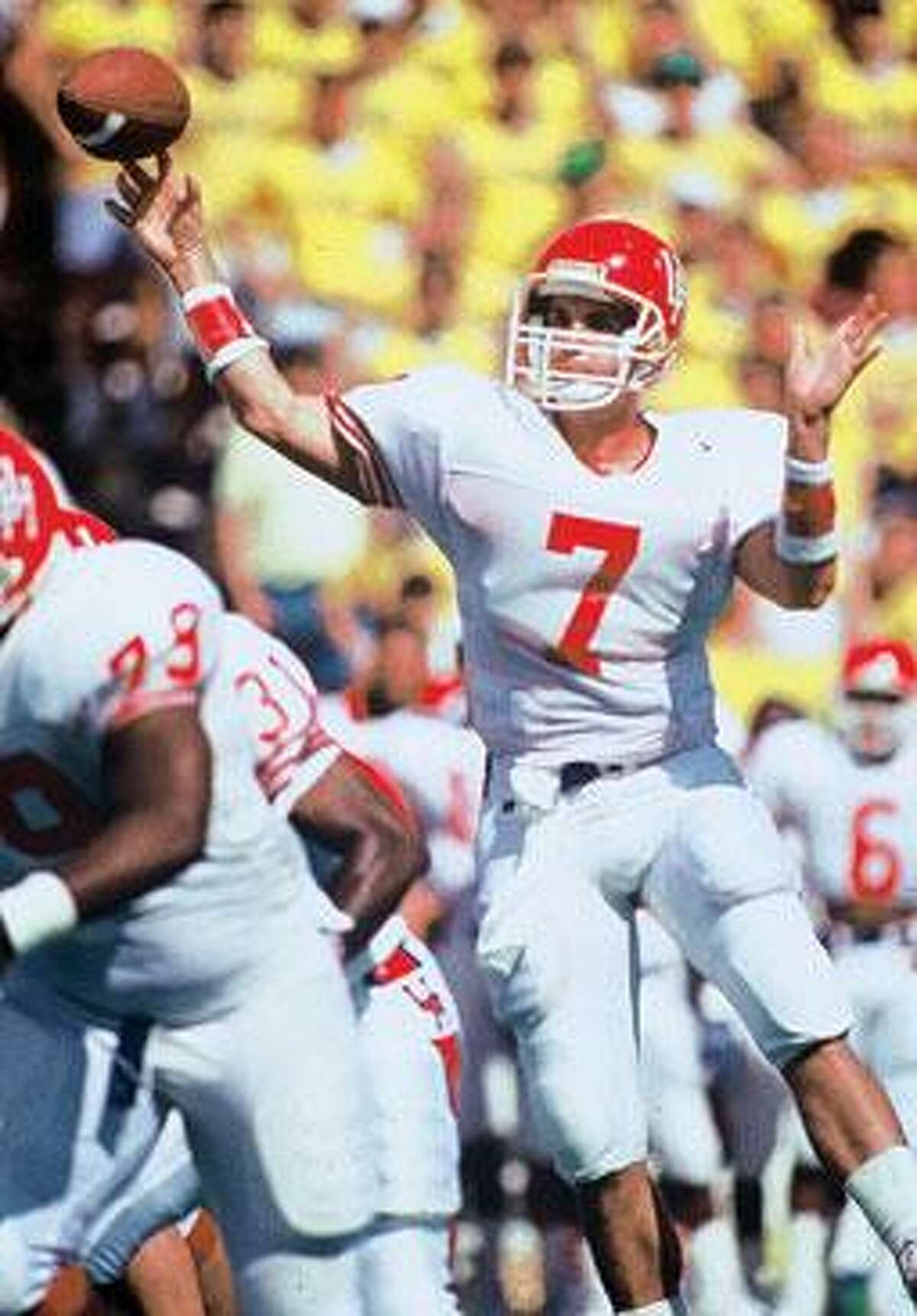 David Klingler, who played football for the University of Houston and the Cincinnati Bengals, was voted to the Southwest Conference Hall of Fame.