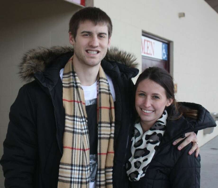 Nathan Walkup and his wife Jacy say goodbye to Deer Park today as they fly back to the little European country of Luxembourg and Walkup's final five months of that country's professional basketball league. Luxembourg hoop fans have gotten a taste to what Walkup did for Deer Park's varsity program for four seasons, including a pair of MVP seasons. Photo: Robert Avery