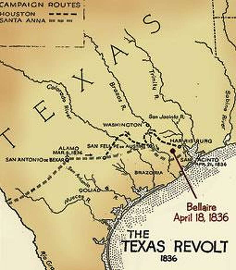 Texas History In Your Back Yard Battle Of San Jacinto Looms Large - Battle of san jacinto map