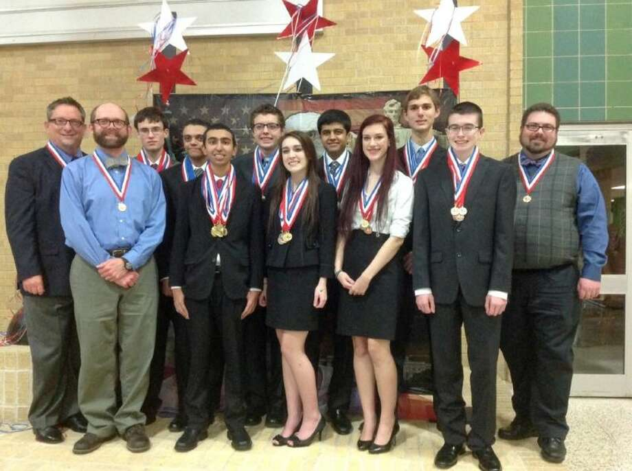 Pearland ISD boasts three AcaDec teams -- one state-bound