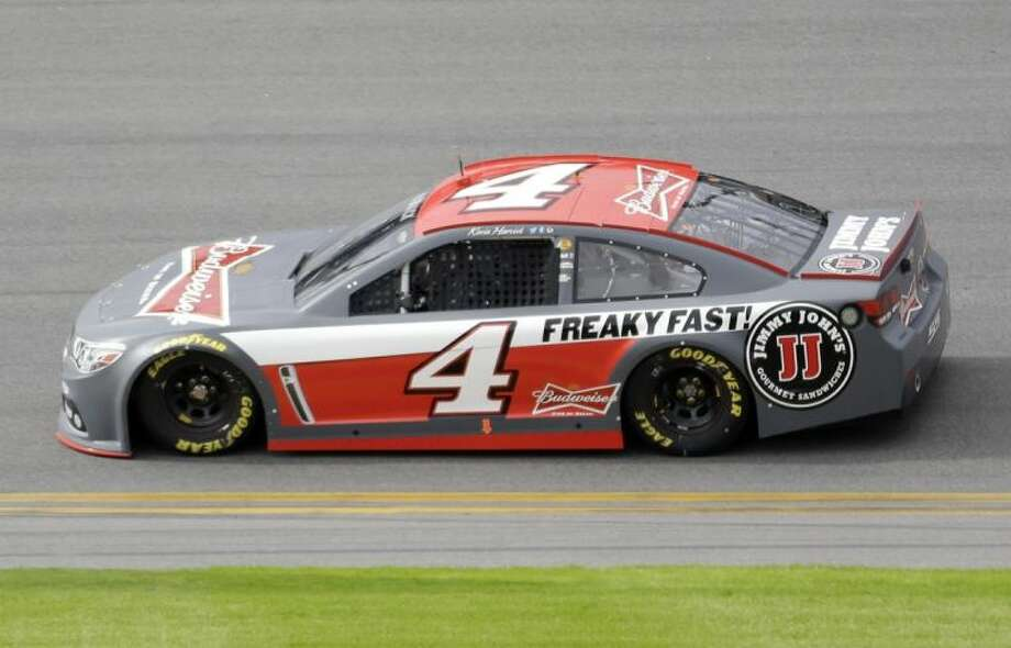 Kevin Harvick drives during NASCAR Sprint Cup testing at Daytona International Speedway on Jan. 10 in Daytona Beach, Fla.