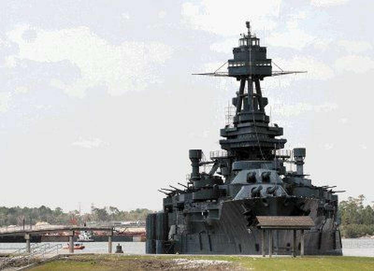 The battleship USS Texas.