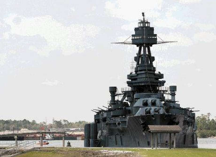 The battleship USS Texas. Photo: Kar Hlava