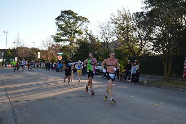 The annual Chevron Houston Marathon passes through West University Place and Southside place, creating street closures from approximately 6:30 to 10:30 a.m. The 2015 race is Sunday, Jan. 18.