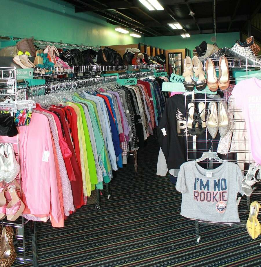 Unlike a typical consignment store, no appointment is necessary to sell clothing and accessories to Plato's Closet. Plus, the store pays cash on the spot for goods it purchases from consumers. Photo: Stacey Glaesmann