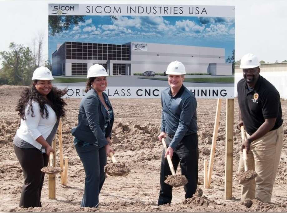Sicom Industries broke ground on a 27,555 square foot manufacturing facility on Monday, Feb. 17. Photo: Submitted Photo