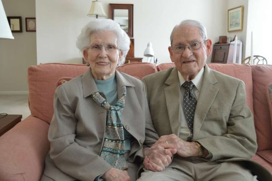 Norma and Jim Reagan, residents of Parkway Place, were married in April of 1954. Photo: Submitted Photo