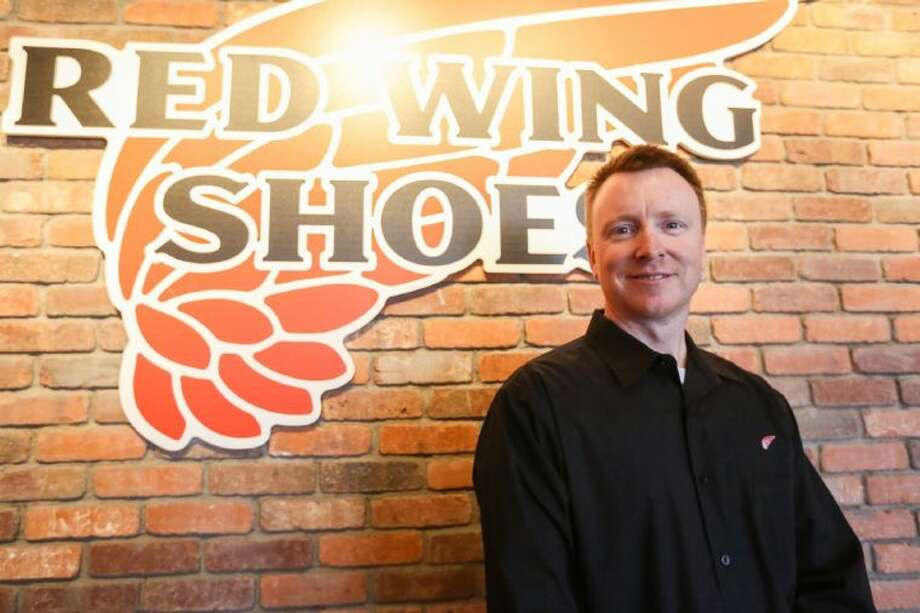 Karl Harroff, Red Wing Shoes store manager, is pictured in the new store on FM 2920 in Tomball on Friday, Feb. 21. Photo: Michael Minasi