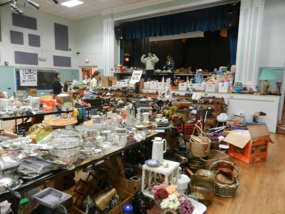 Find treasures and amazing deals at this giant garage sale, held annually by Poe Cooperative Nursery School (Poe Co), the local Boulevard Oaks nursery school, to benefit its children and programs.