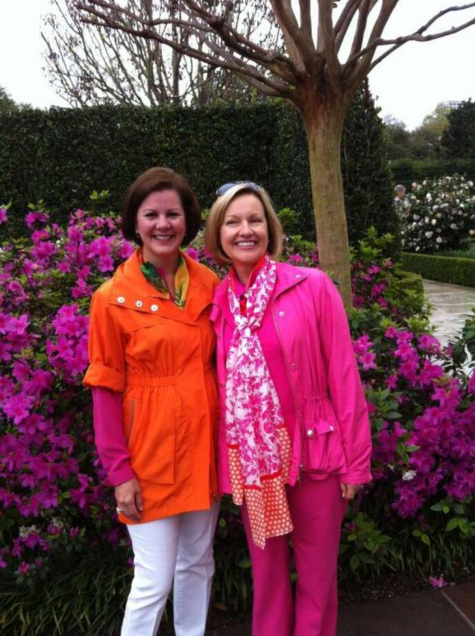 Sallie Mansell and Sally Matthews are co-chairs of River Oaks Garden Club's 79th annual Azalea Trail, which takes place March 7-9 in Houston's River Oaks and Tanglewood neighborhoods. Four homes and gardens are featured this year along with the club's Forum of Civics building and grounds and mainstays Bayou Bend Gardens and Rienze.