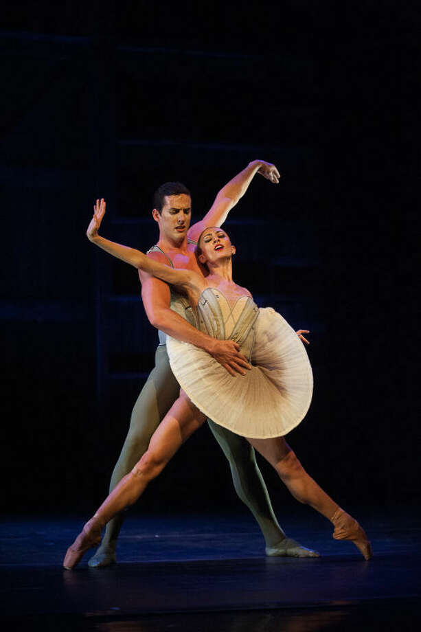 This photo features Miguel Blanco and Victoria Jainai performing in Son of Chamber Symphony Photo: Photo By Christopher Duggan