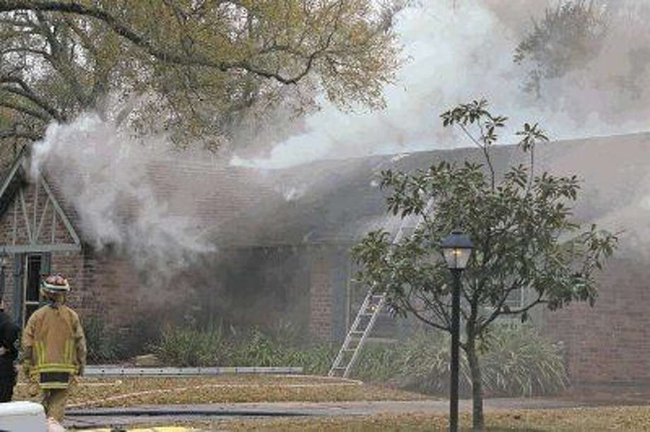 House fire on Saxony Lane in Nassau Bay claims the life of a retired firefighter. Photo: Kar B Hlava