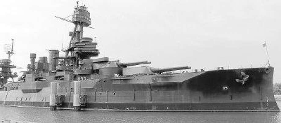 The Battleship Texas.