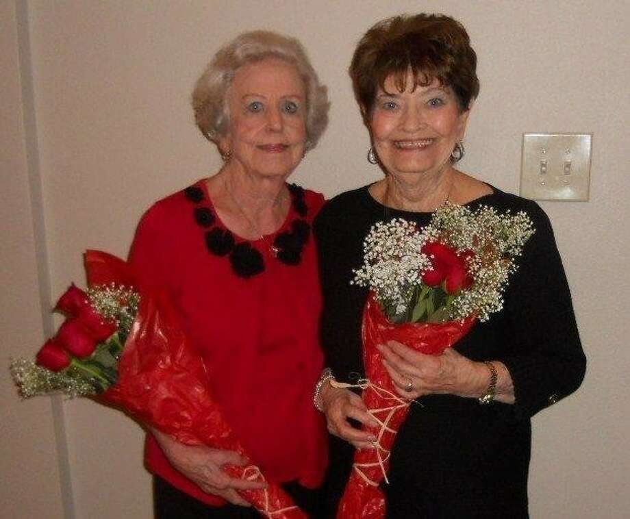Jean Shelledy (left) and Mary Ammerman, both recently honored with Lifetime Achievement Awards by the Fort Bend ABWA . Photo: Submitted Photo