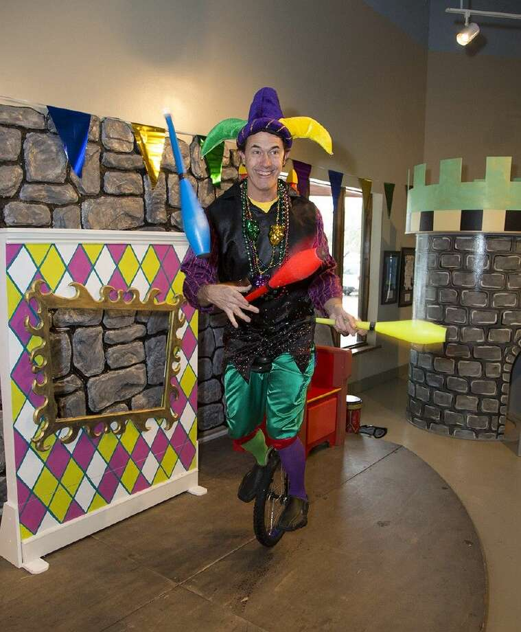 Get in the spirit of Carnival and Mardi Gras at The Woodlands Children's Museum.