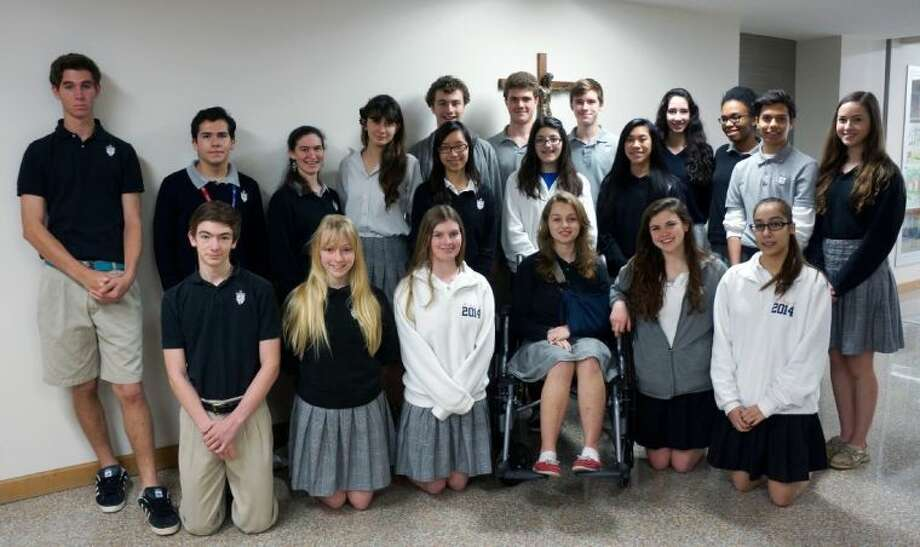 Twenty-two St. Pius X High School students advanced to the Texas Association of Private and Parochial Schools (TAPPS) Class 5A Academic and Art State Meets after placing in the top five at the 5A-3 District Meet, held at St. Pius X Friday and Saturday, Feb. 21-22.