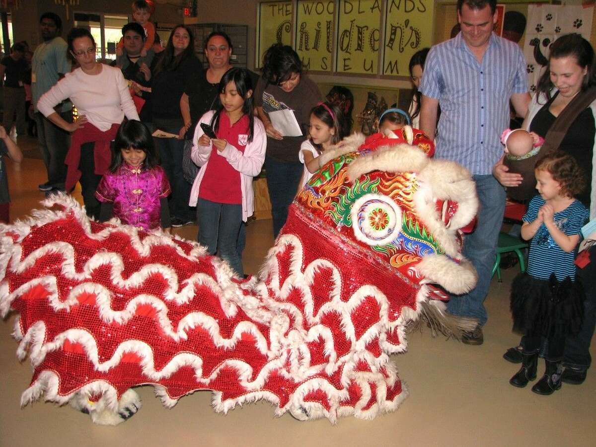 Ring in the Chinese New Year at The Woodlands Children's Museum.