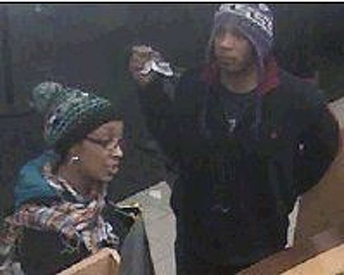 MCSO is asking the public for help in identifying the two people in the photo above. Anyone with information about the man and woman should call MCSO at 936-760-5876.