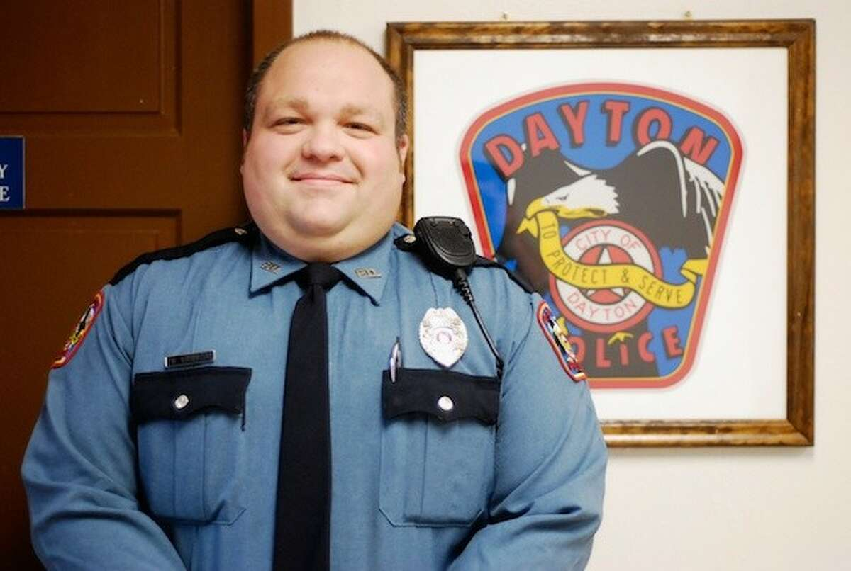 Officer Billy Hibbits is nearing the completion of his first year with the Dayton Police Department.