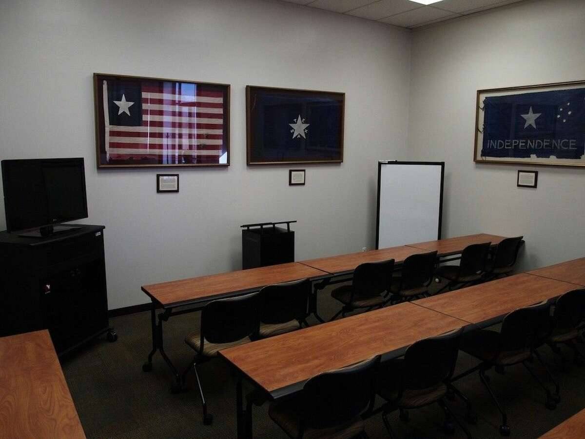 The newly remodeled classroom at the Sam Houston Regional Library and Research Center is available for educational uses.