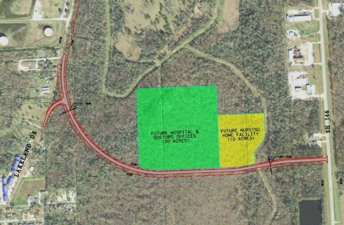 The City of Liberty will have a new street constructed from the SH 146 bypass to Lakeland Drive.
