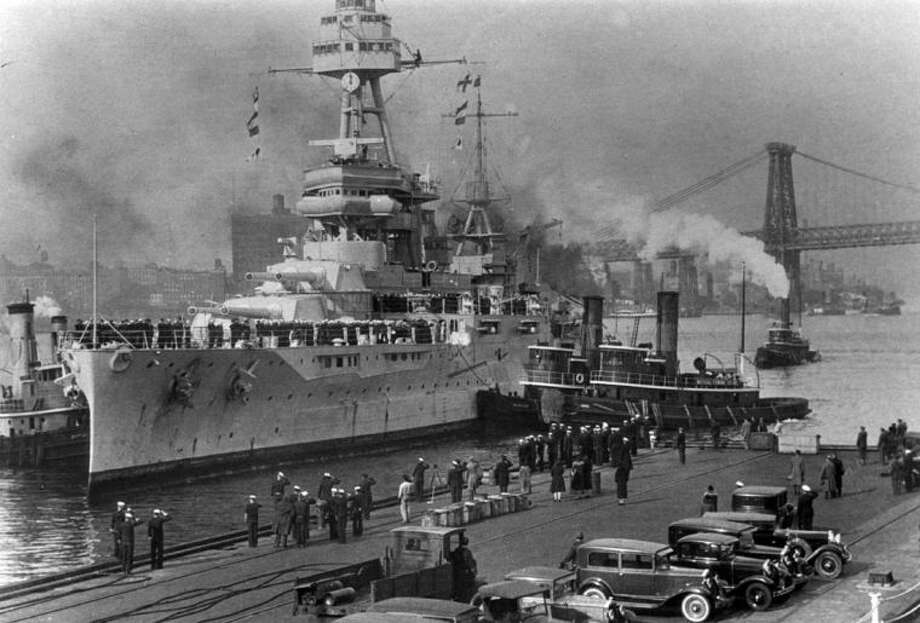 """Commissioned on March 12, 1914, the Battleship TEXAS served in both world wars and is the last remaining """"dreadnought,"""" or big-gun battleship. Photo: Texas Parks And Wildlife"""